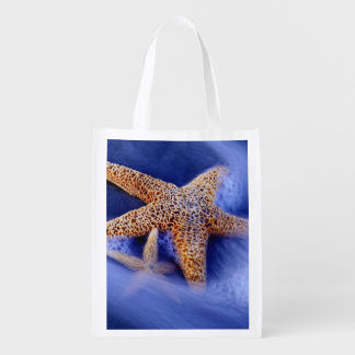 USA, South Carolina, Hilton Head Island. Two Reusable Grocery Bag