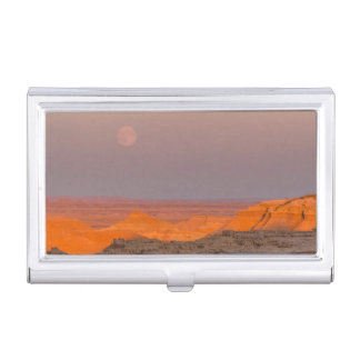 USA, South Dakota, Badlands National Park Business Card Holder