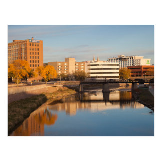 USA, South Dakota, Sioux Falls, City Skyline Postcard