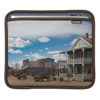 USA, South Dakota, Stamford, 1880 Town, Pioneer iPad Sleeve