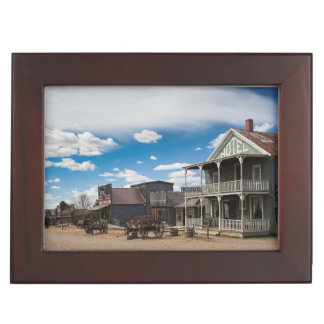 USA, South Dakota, Stamford, 1880 Town, Pioneer Keepsake Box