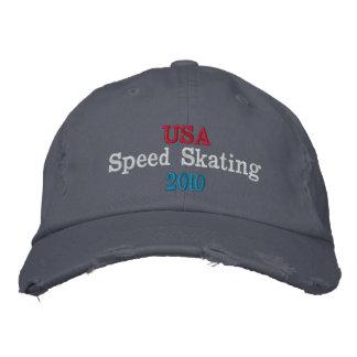 USA Speed Skating  2010 Baseball Cap