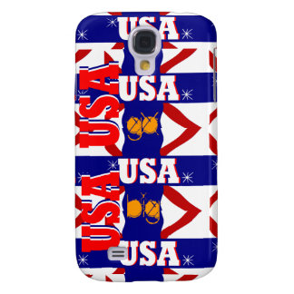 USA Sports GO BIG iPhone 3GS & 3G Case Gift Galaxy S4 Case
