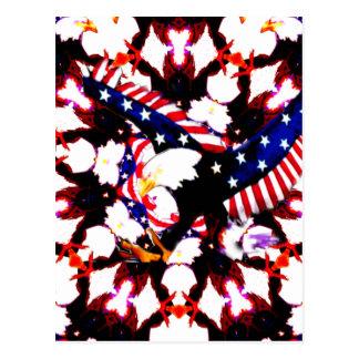 USA Spread your Love_ Postcard