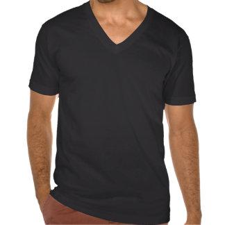 USA Spunk Men's American Apparel Fine Jersey V-nec Tshirt