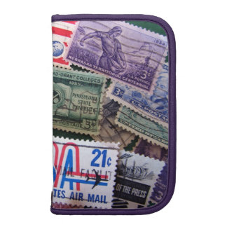 USA Stamp Collage Folio Smartphone Planner