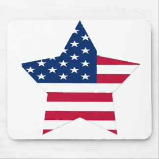USA Star American Flag Mouse Pads