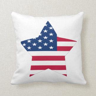 USA Star Flag Cushion