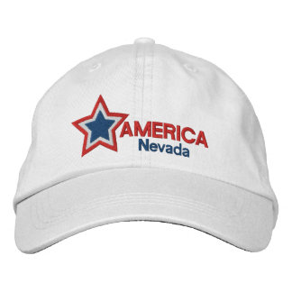 USA Star Nevada Baseball Cap