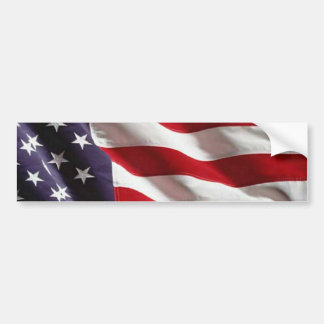 USA Star Spangled Banner American Flag Bumper Sticker