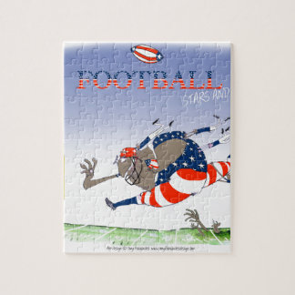 USA stars and stripes, tony fernandes Jigsaw Puzzle