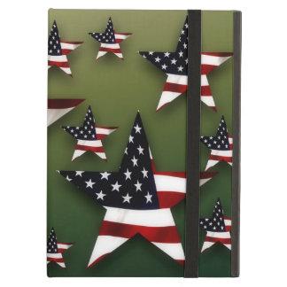 Usa stars flags iPad air covers
