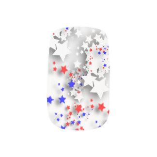 USA stars Minx Nail Art