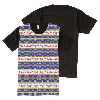 USA Stars Red Bald Eagle Homeland Shirt