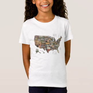 USA State Collage T-Shirt