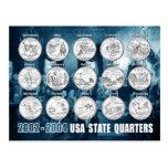 USA State Quarters (Coins) 2002 - 2004