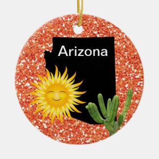 USA States Arizona - SRF Christmas Ornament
