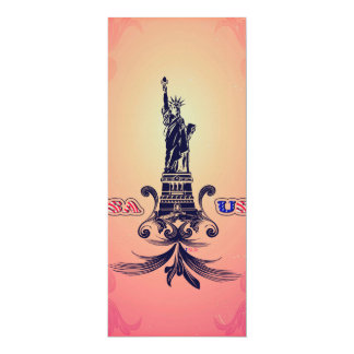 USA Statue of Liberty Announcement