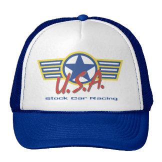 USA Stock Car Racing Mesh Hat