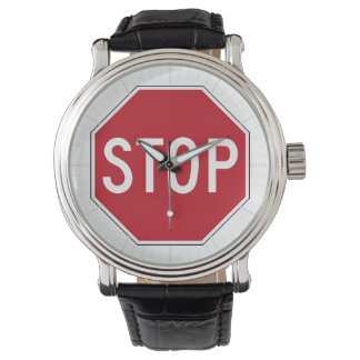 USA Stop Sign Watch