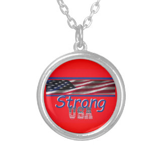 USA Strong Custom Necklace