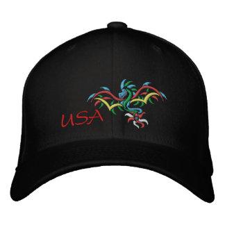 USA SUN DRAGON EMBROIDERED HAT