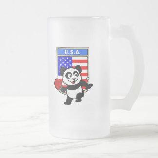 USA Table Tennis Panda Coffee Mugs