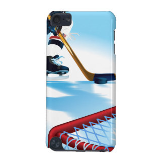 USA Team Hockey Player iPod 5 Touch iPod Touch (5th Generation) Covers