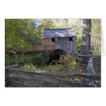 USA - Tennessee. Cable mill in Cades Cove area