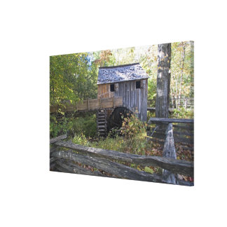 USA - Tennessee. Cable mill in Cades Cove area Canvas Print