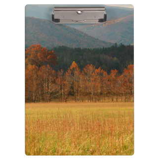 USA, Tennessee. Cades Cove In Smoky Mountain Clipboard