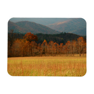 USA, Tennessee. Cades Cove In Smoky Mountain Magnet