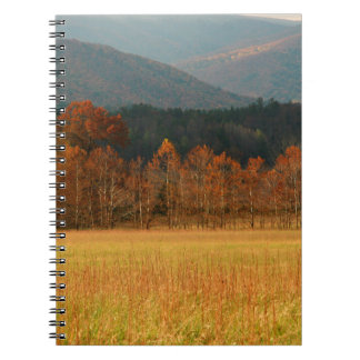 USA, Tennessee. Cades Cove In Smoky Mountain Notebook