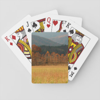 USA, Tennessee. Cades Cove In Smoky Mountain Playing Cards