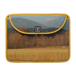 USA, Tennessee. Cades Cove In Smoky Mountain Sleeve For MacBooks