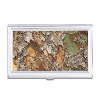 USA, Tennessee, Close Up Of Bark On A Tree Business Card Holder