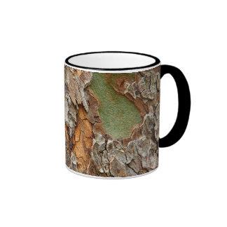 USA, Tennessee, Close Up Of Bark On A Tree Coffee Mugs