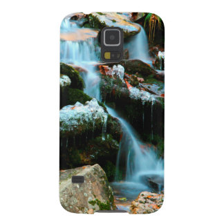 USA, Tennessee. Frosty Early Spring Creek Galaxy S5 Covers