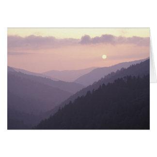 USA, Tennessee. Great Smokey Mountains 2 Card