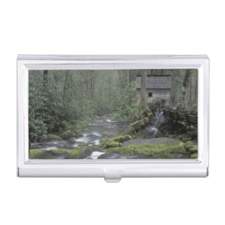 USA, Tennessee, Great Smoky Mountains National 3 Business Card Holder