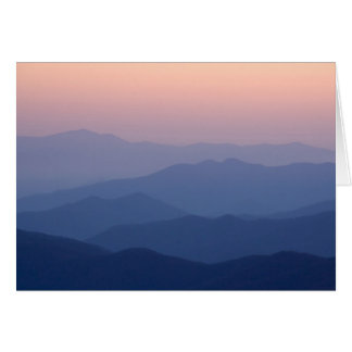 USA, Tennessee, Great Smoky Mountains National Card