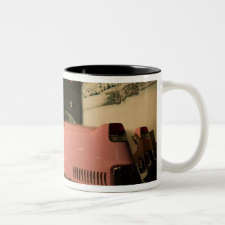 USA, Tennessee, Memphis, Elvis Presley 3 Two-Tone Coffee Mug
