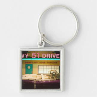 USA, Tennessee, Memphis: Elvis Presley Key Ring