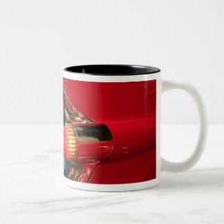 USA, Tennessee, Memphis, Elvis Presley Two-Tone Coffee Mug