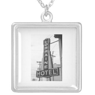 USA, Tennessee, Memphis: National Civil Rights Silver Plated Necklace