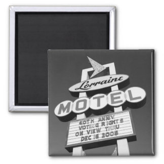 USA, Tennessee, Memphis,National Civil Rights Square Magnet