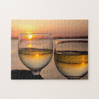 USA, Tennessee, Mississippi River Near Memphis Jigsaw Puzzle