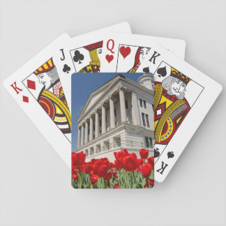 USA, Tennessee, Nashville. Historic Tennessee Playing Cards