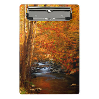 USA, Tennessee. Rushing Mountain Creek 2 Mini Clipboard