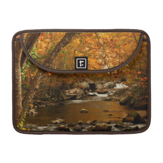 USA, Tennessee. Rushing Mountain Creek 3 Sleeve For MacBook Pro